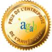 Prix de l'entreprise de l'année 2012 AGAB