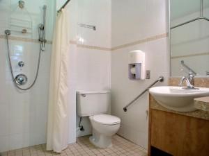 Salle de bain platine
